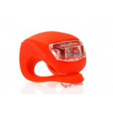 Светодиодный фонарик мигалка красный