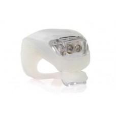 Светодиодный фонарик мигалка белый