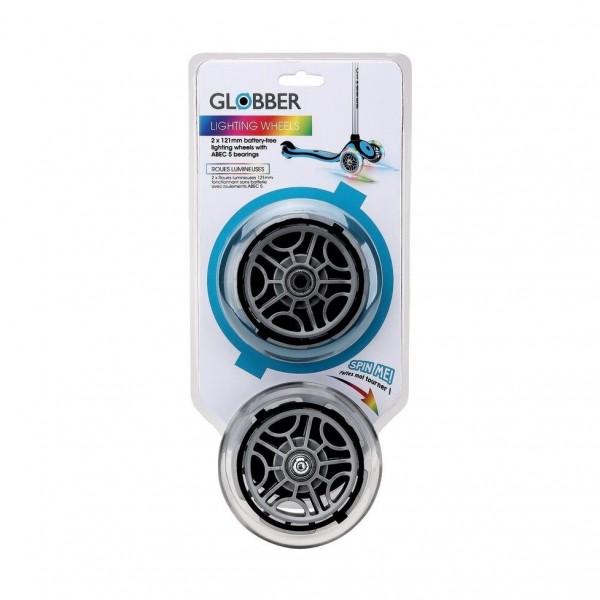 Набор светящихся колес GLOBBER серий PRIMO/ELITE/EVO/GO UP/FLOW