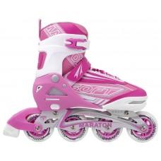 Детские ролики Maraton SOFT (31-34) розовый