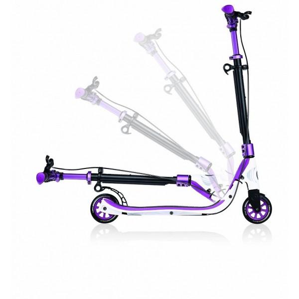 Самокат Globber ONE NL 125 Delux фиолетовый